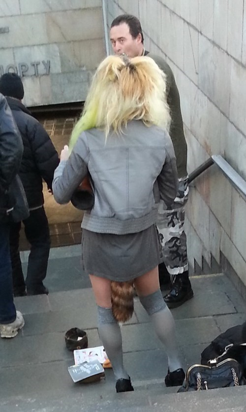 street fashion wtf skirts tails