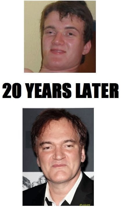 really high guy 10 guy quentin tarantino