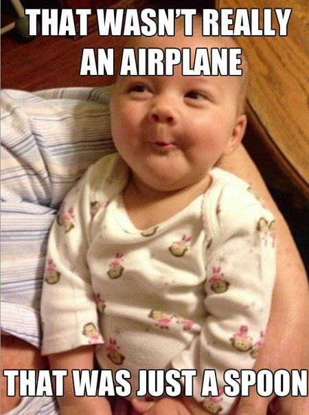 Babies,incredulous baby,airplanes