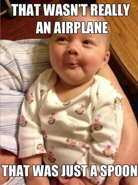 Babies incredulous baby airplanes - 7101450496