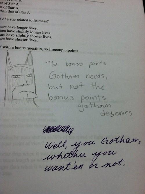 similar sounding batman the dark knight quote - 7101514752
