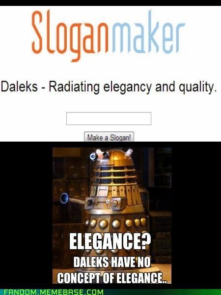 daleks doctor who sloganmaker - 7101537280