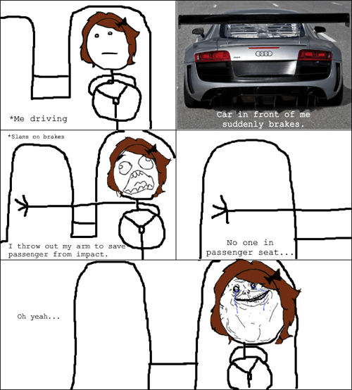 forever alone passenger seat driving - 7101682688