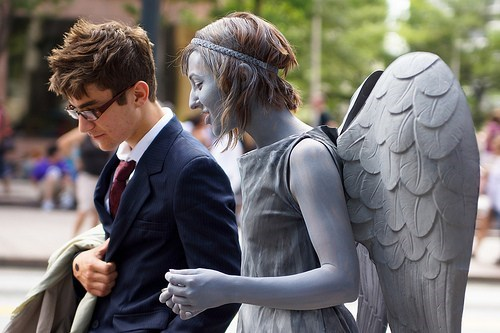 cosplay weeping angels 10th doctor doctor who - 7101691392
