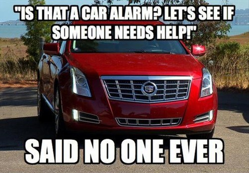 said no one ever cars car alarms - 7101728768