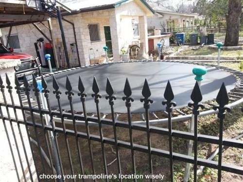 fences,trampolines,dangerous