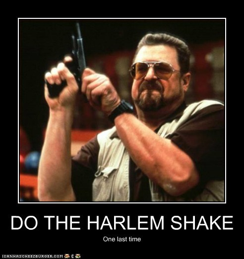 the big lebowski john goodman One More Time gun harlem shake