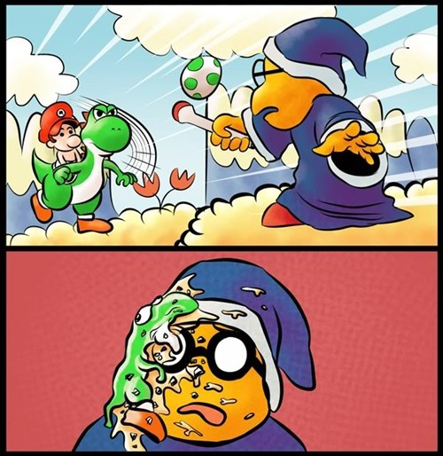 comics mario nintendo yoshi - 7101810176