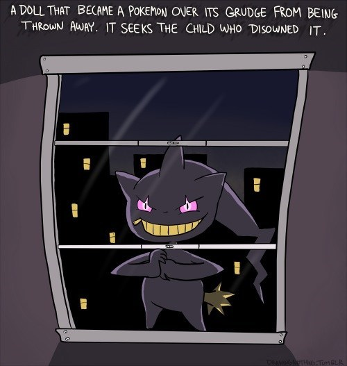 banette,pokedex entries,creepy