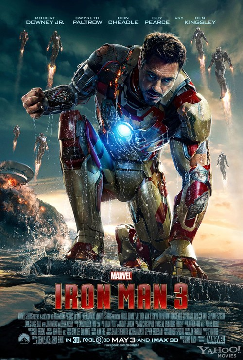 poster robert downey jr tony stark iron man 3 - 7101875968