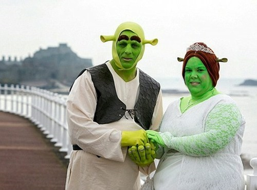 green,costume,shrek