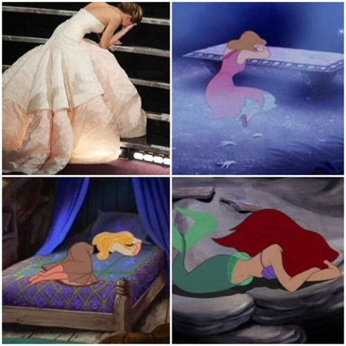 princess disney pose jennifer lawrence - 7101947136