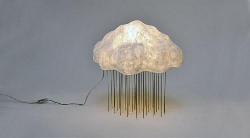 clouds lights lamps rain - 7101967616