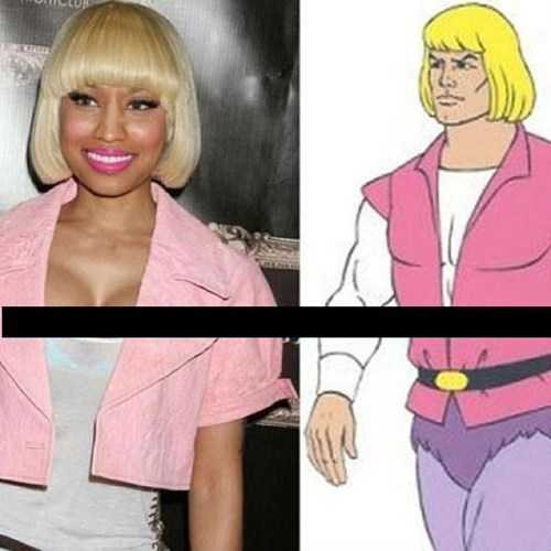 who wore it better Heman nicki minaj poorly dressed g rated - 7101970176
