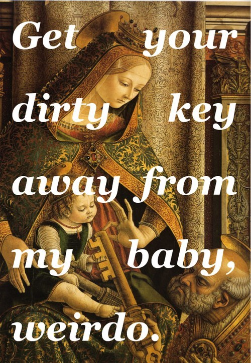 keys,Babies,old man,magic