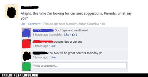 car seats facebook advice - 7102135808