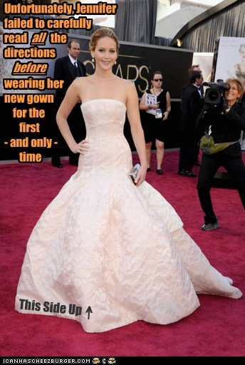 directions jennifer lawrence dress oscars 2013 - 7102617344
