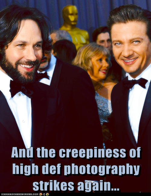 photography creepy paul rudd Jeremy renner - 7102633472