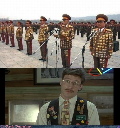 pieces of flair military North Korea Office Space - 7102788608