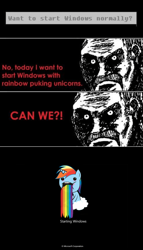 windows hnng rainbow dash - 7103056896