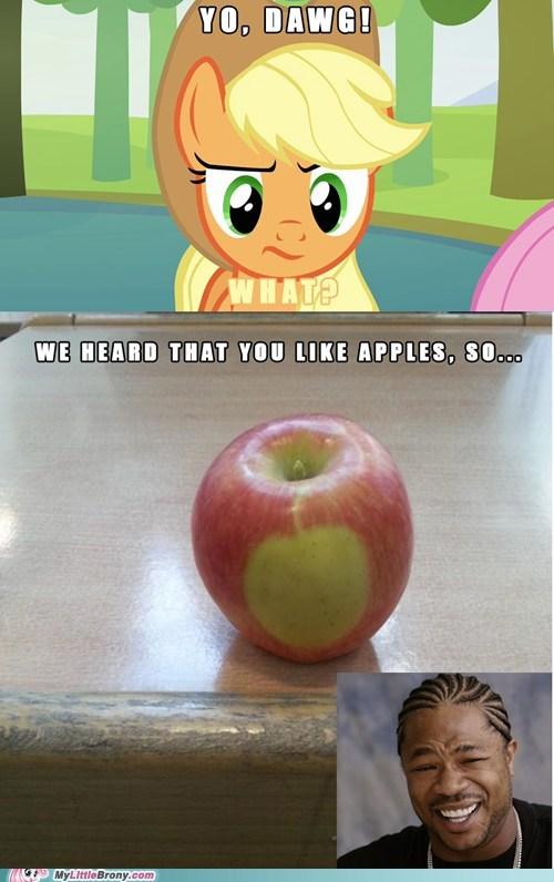 yo dawg Memes apples cutie marks - 7103284480