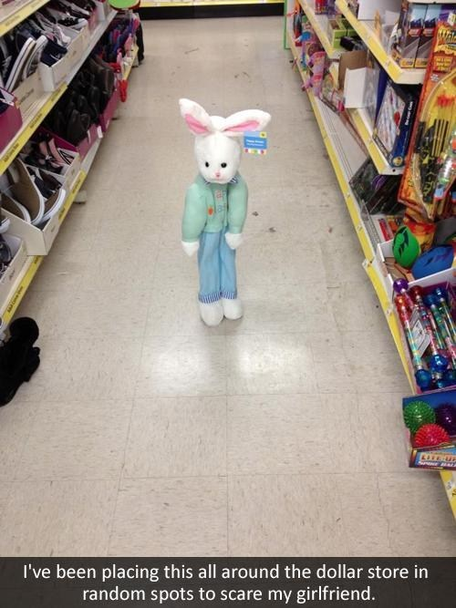 girlfriend,Easter Bunny