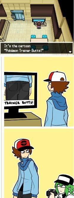 trainer butts comics N - 7104035328