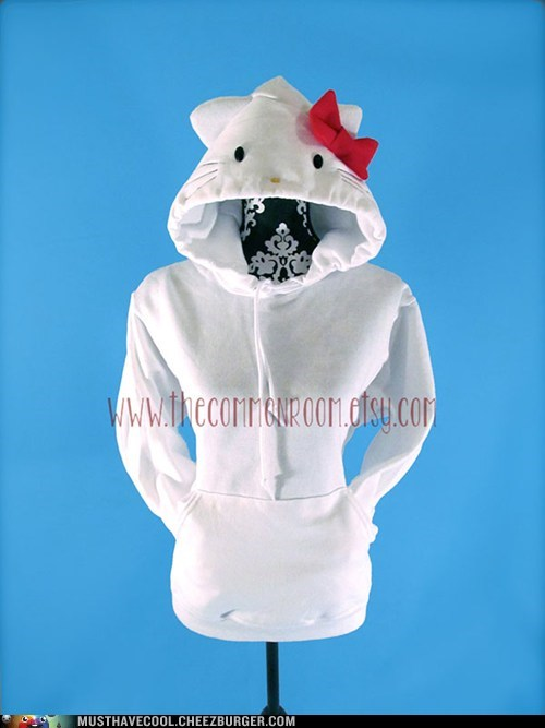 bow hoodies hello kitty - 7104048640
