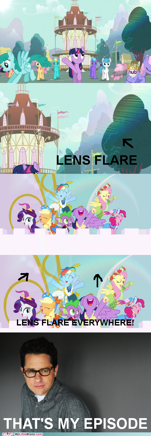 JJ Abrams,lens flare,magical mystery cure