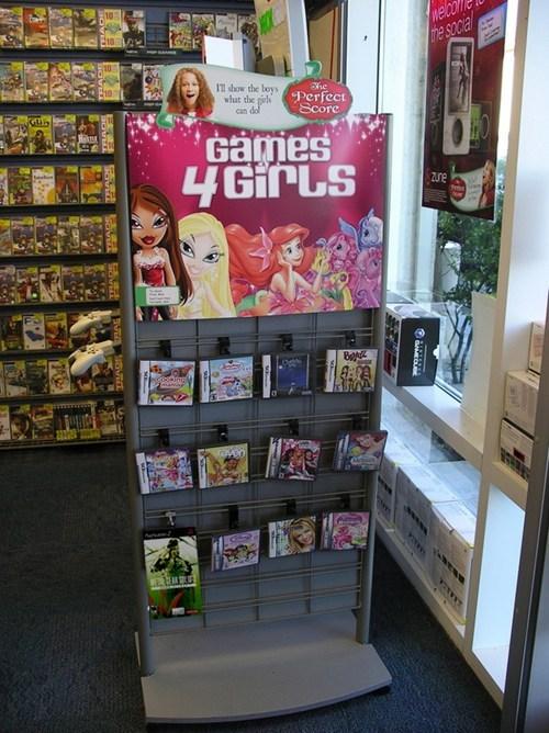 advertising gamestop gamers girls - 7104105216