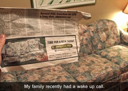 sofa newspaper - 7104131584