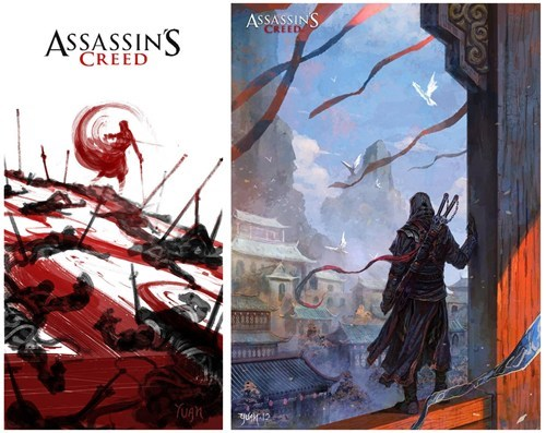 Ubisoft Japan assassins creed - 7104134912