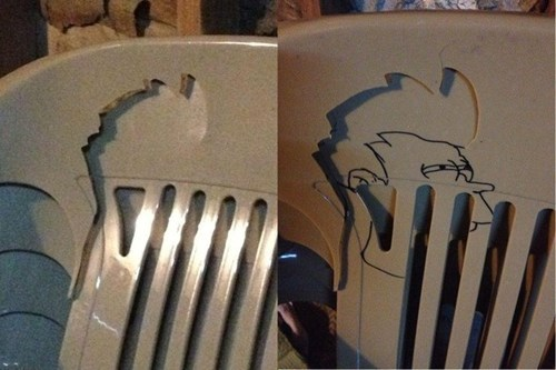 chair hacked irl Futurama Fry - 7104297216