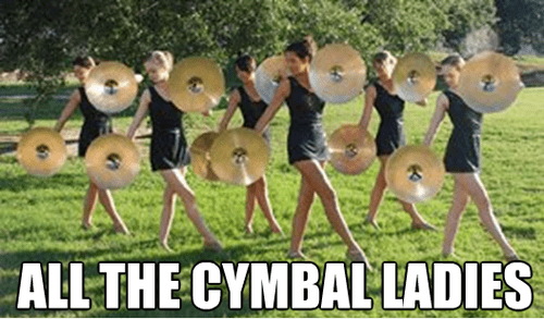 cymbals,single ladies