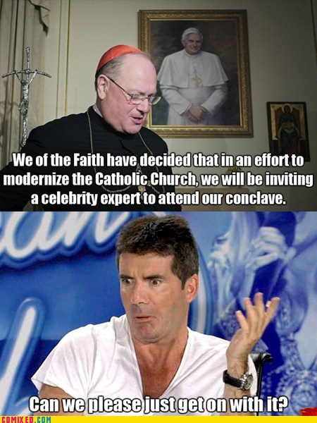 simon cowell,pope,celeb