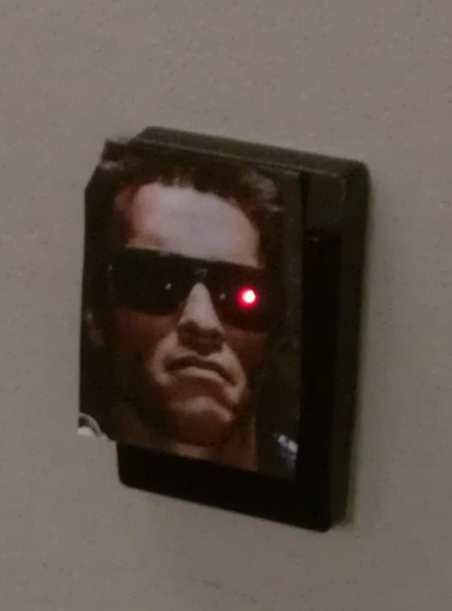 card reader,terminator,hacked irl