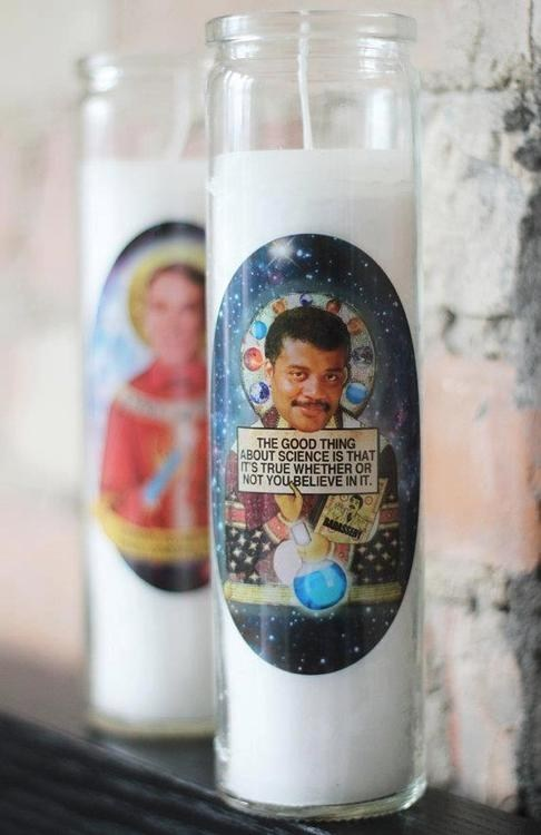 awesome candle Neil deGrasse Tyson - 7104824832