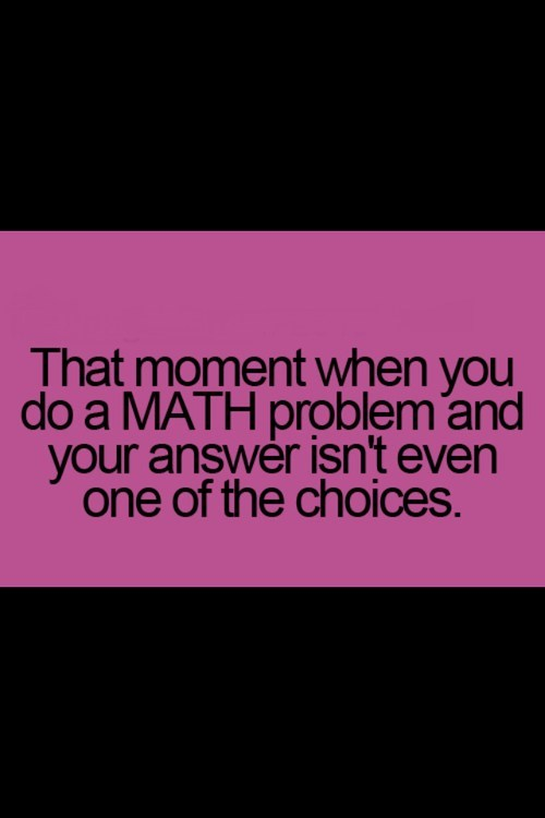 feeling,problem,math