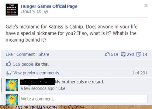 brother hunger games facebook nickname - 7104882688
