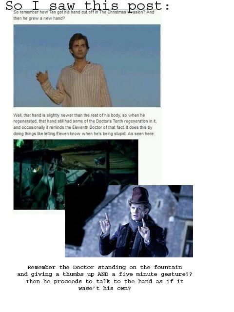 hands doctor who regeneration - 7104980480