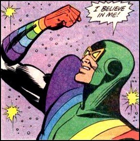 Believe In Yourself rainbow man off the page - 7105303808