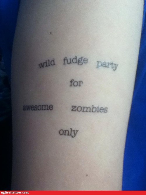zombie,fudge,parties