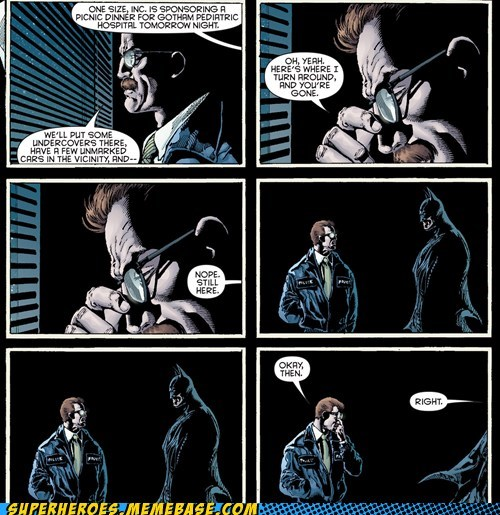 commissioner gordon Awkward batman - 7105438464