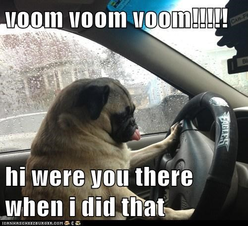 voom voom voom!!!!!  hi were you there when i did that
