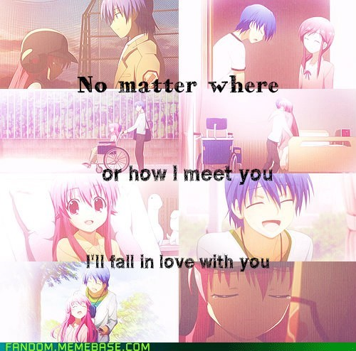 anime,angel beats,love