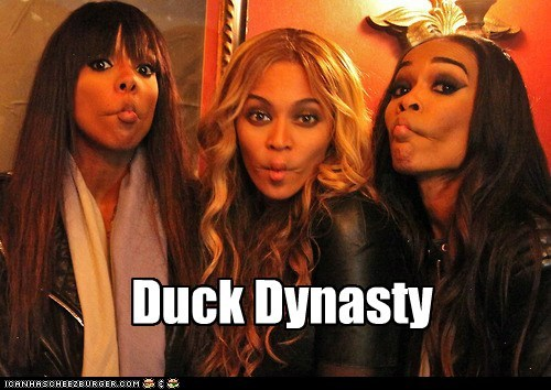 beyoncé Michelle Williams duck face destinys child duck dynasty kelly rowland - 7106951168