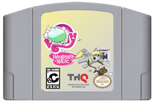 derpy hooves nintendo 64 video games - 7107581696