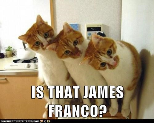 IS THAT JAMES FRANCO?
