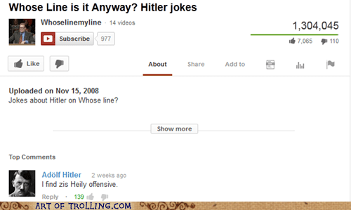 youtube whose line hitler - 7109193472