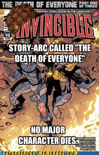 invincible robert kirkman scumbag story - 7109230592